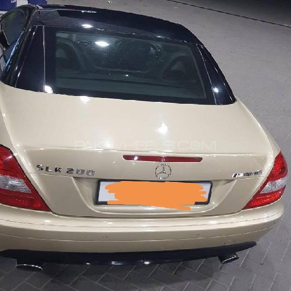 Mercedes benz slk class slk200 kompressor 2007