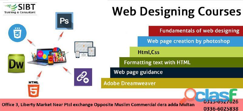 Web designing & development course