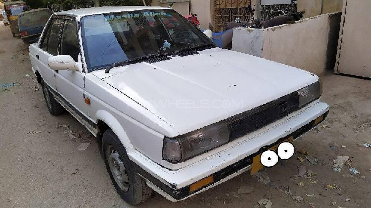 Nissan sunny ex saloon 1.3 (cng) 1986