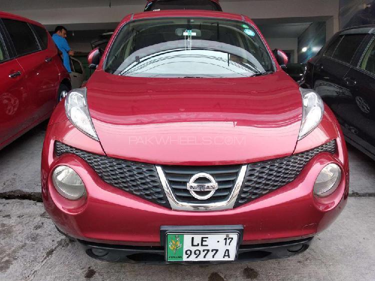 Nissan juke 15rs type v 2012