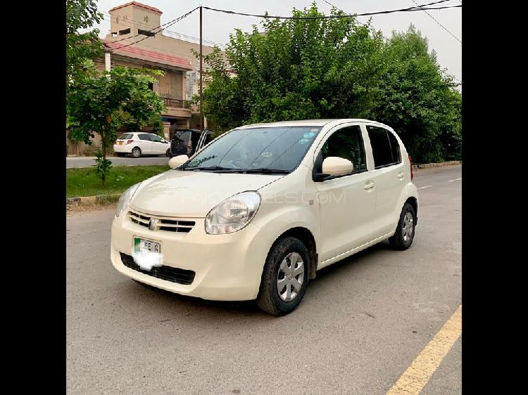 Toyota passo x l package 2011
