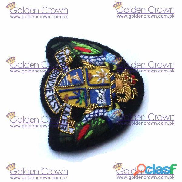 Hand embroidered badgesv