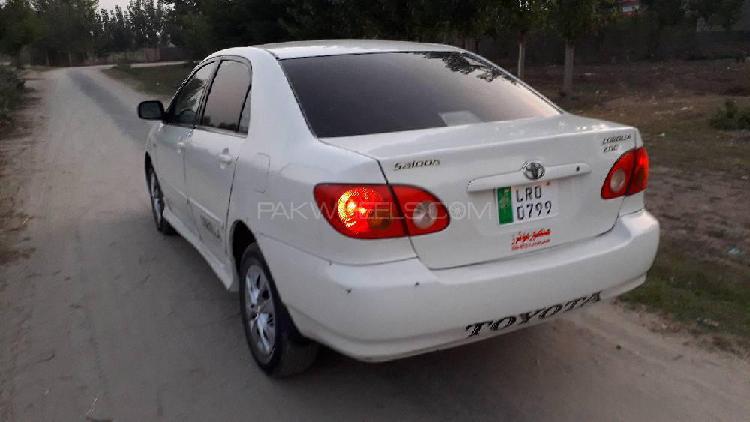 Toyota corolla 2.0d saloon 2003