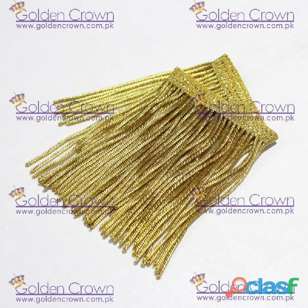 Golden Bullion Wire Fringe