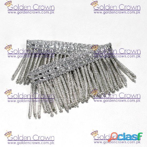 Silver Bullion Wire Fringe