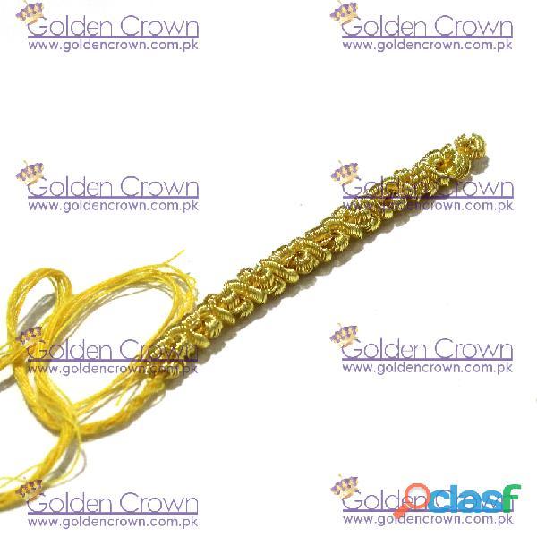 Gold Caterpillar Fringe Supplier