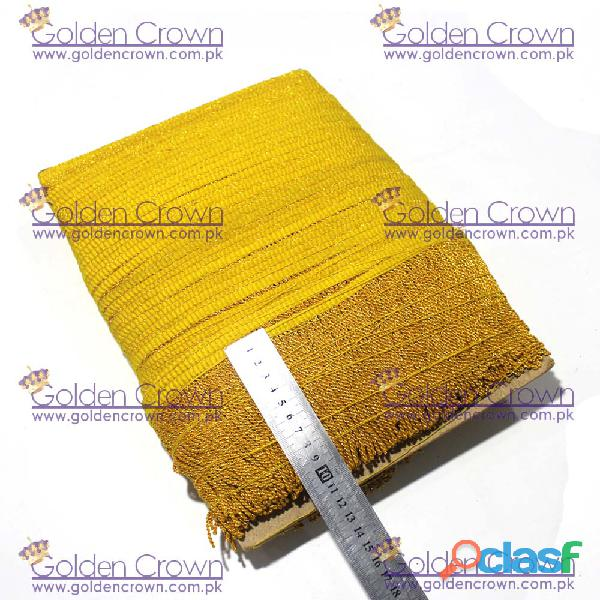 Metallic Gold Fringe Wholesale, Gold Fringe Suppliers 3