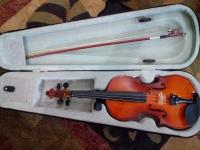 For sale violin new position & bow, rozin & hard case lahore