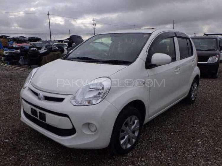 Toyota passo x l package 2015