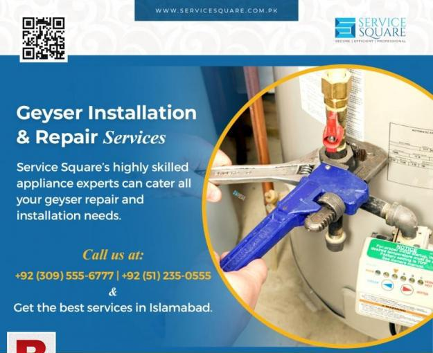 Geyser installation and repair service in islamabad