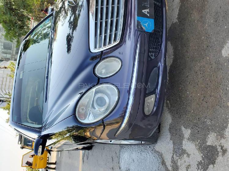 Mercedes benz e class e200 2004