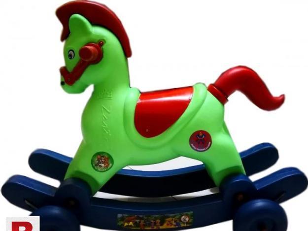 Plastic Horse For Children Ride