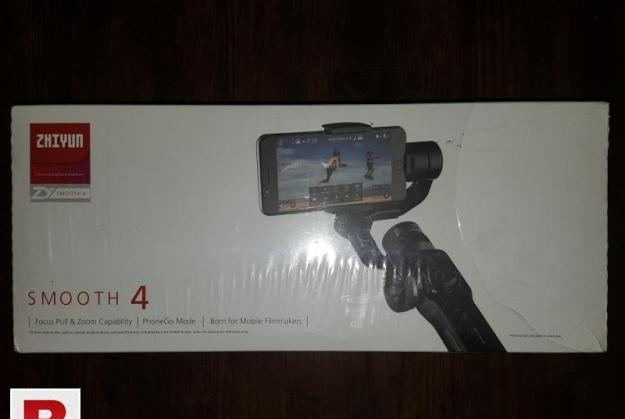 Zhiyun smooth 4 mobile gimble almost brand new for sale