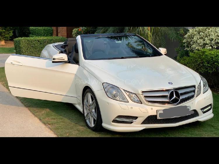 Mercedes benz e class cabriolet e 250 2013