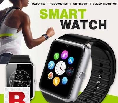 Smart watch gt08(silver) with gsm slot
