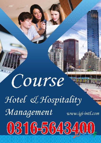 Hotel & Hospitality Management Online Diploma Course in Islamabad O3165643400 1