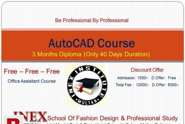 Fashion design diploma offered