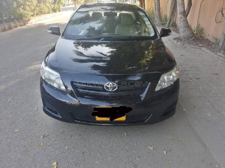 Toyota corolla xli vvti 2011