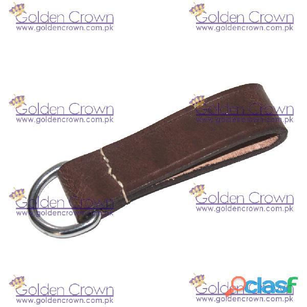 Ww1 brown leather d ring belt loop
