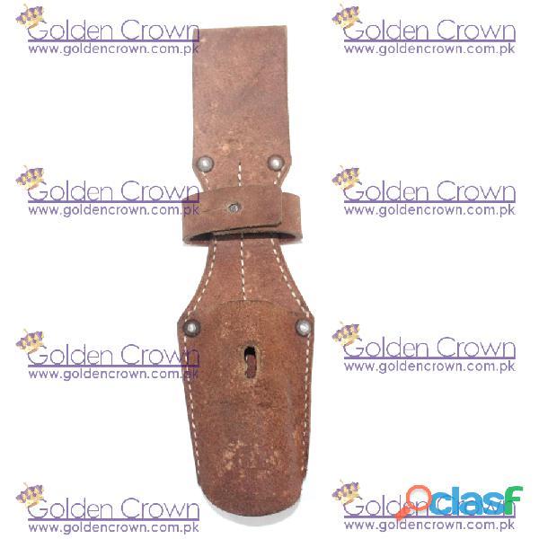 Ww1 ww2 brown leather bayonet frog