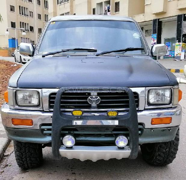 Toyota hilux double cab 1999