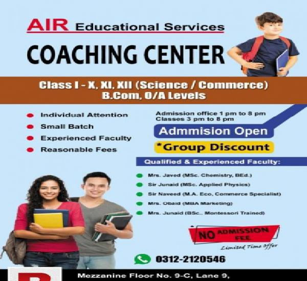 Coaching center sehar commercial defence phase 7