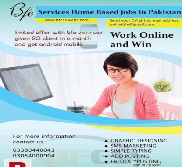 Male female workers need for writing job urgent 786