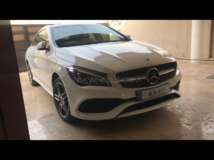 Mercedes benz cla class cla180 2018