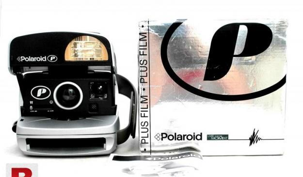 Polaroid p 600 instant camera box pack.