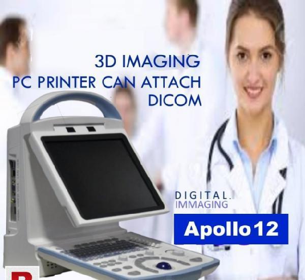 Apollo 12 3d b&w portable ultrasound machine latest mode