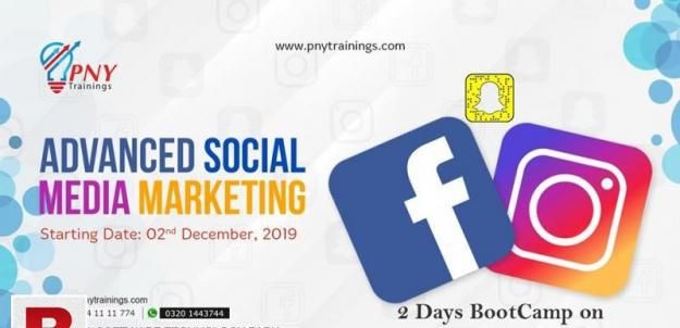 2 days bootcamp on advanced social media marketing!