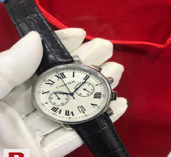 Cartier rotonde chronograph watch
