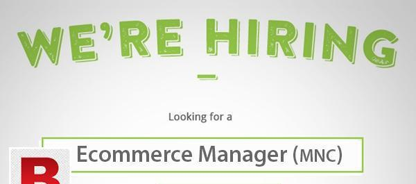 E-Commerce Manager Needed