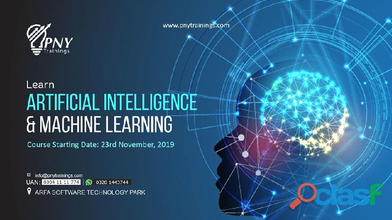 Learn artificial intelligence & machine learning arfa tower