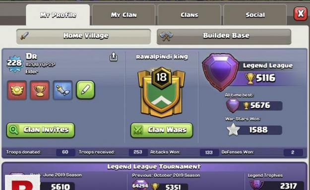 Clash of Clan TH 12 max For Sell