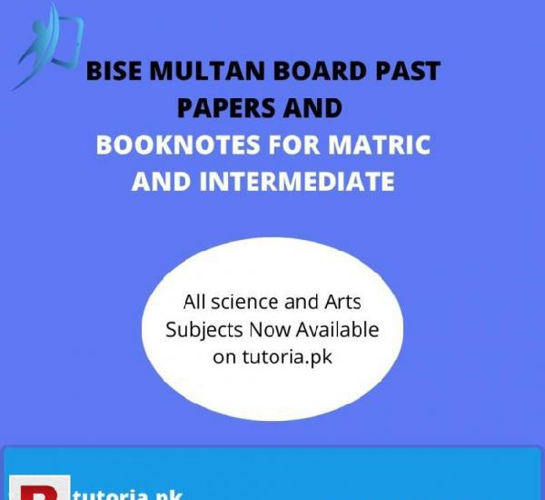 Multan Board Past Papers Solutions