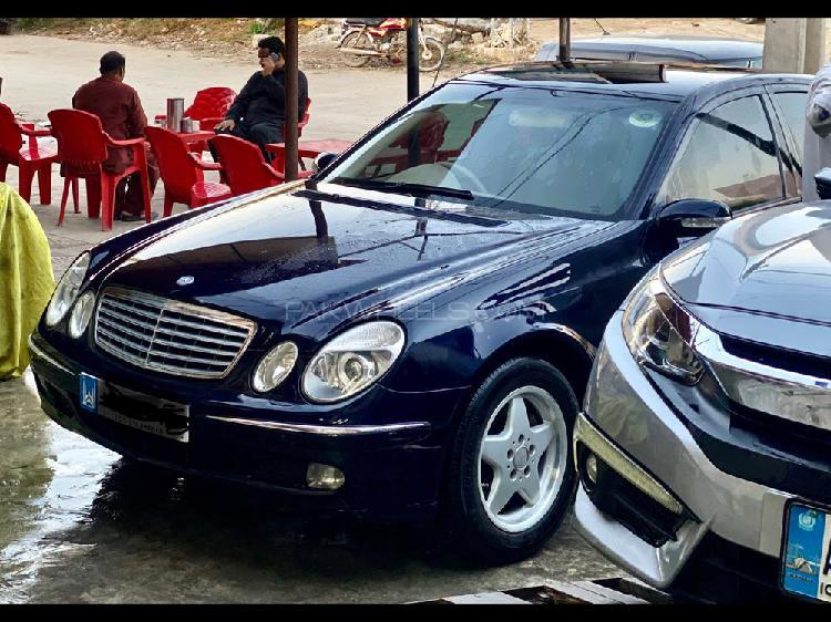 Mercedes benz e class e220 cdi 2003
