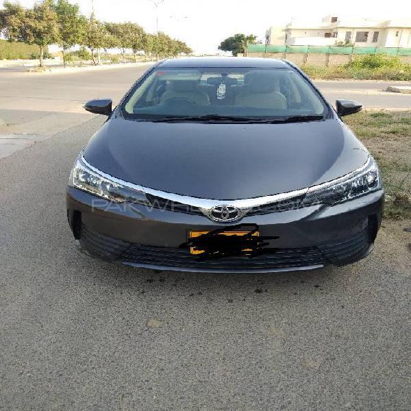 Toyota corolla altis automatic 1.6 2017