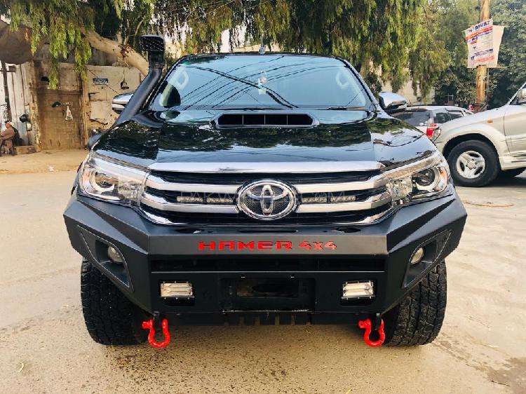 Toyota hilux revo g automatic 3.0 2017