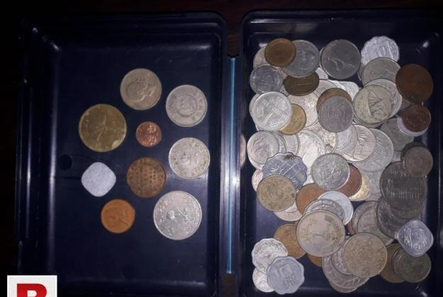Ancient coins from 100 years old 1920-2000
