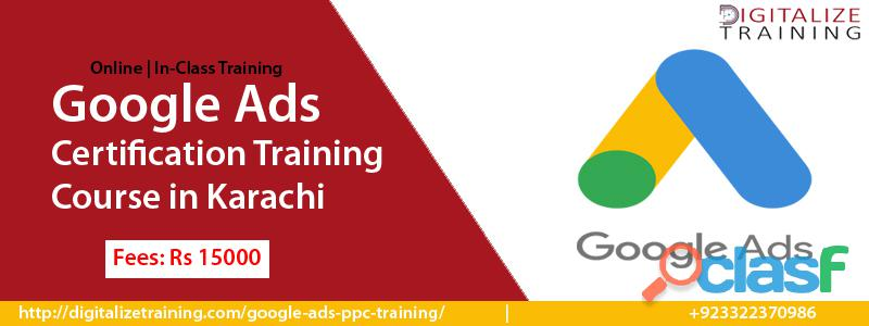 Google adwords ppc training starting from coming week