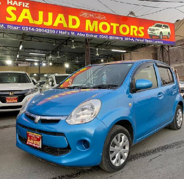 Toyota passo x l package 2016