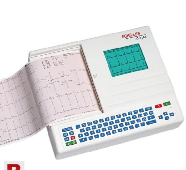 Schiller 12 Channel ECG Machine Cardiovit AT-2 PLus