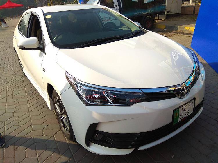 Toyota Corolla Altis Automatic 1.6 2018