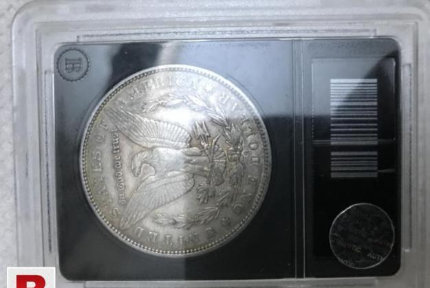 Antique american pure silver coin of 1879