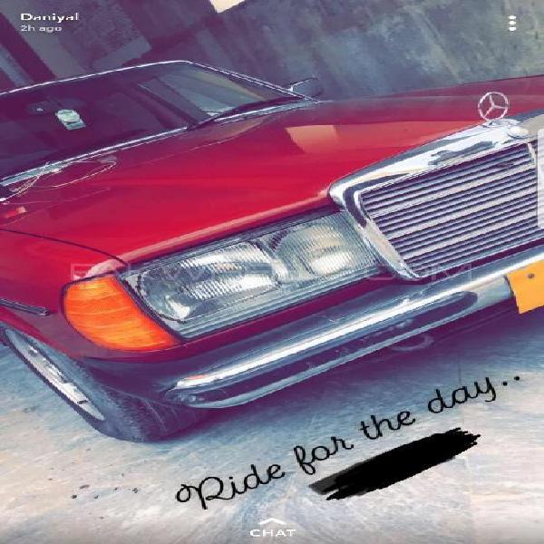 Mercedes benz 200 d 1979