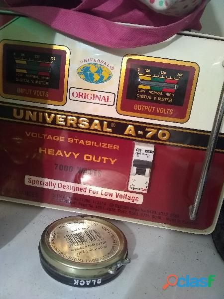 A. 70 Universal stabilizer not used