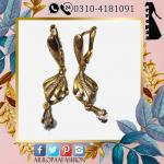 Gold Earrings For Girls Indian Style High Quality Metal,