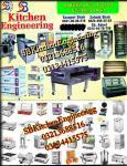 Kitchen engineering advertisement deep fryer oven etc,
