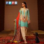 New sana safinaz linen dress in faislabad, lahore
